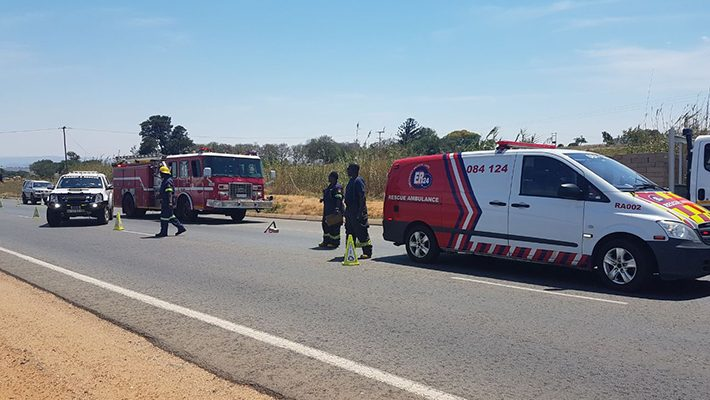 [LION PARK] - Man hit-and-killed by truck.